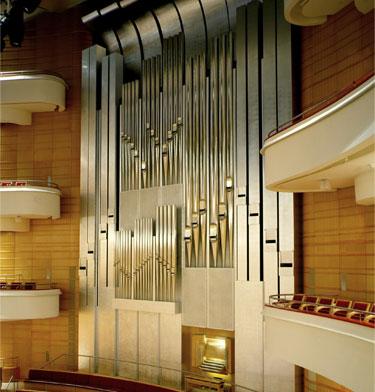 Gilded Pipe Organ
