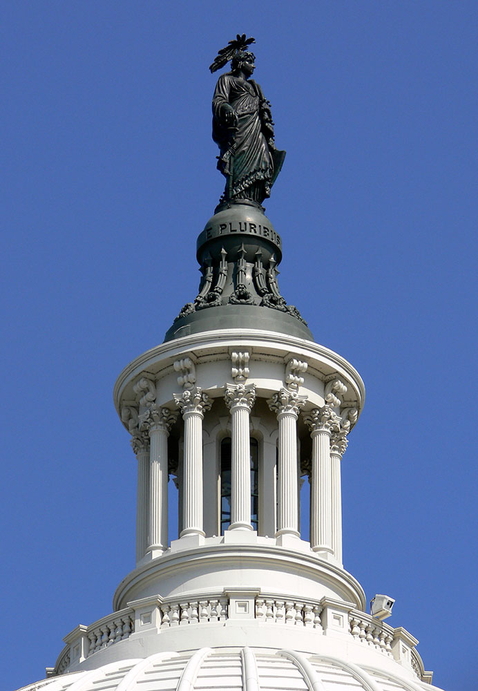 United States Capitol, Statue of Freedom