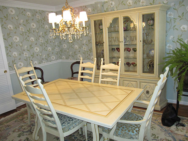 Dining Room Table and Furniture