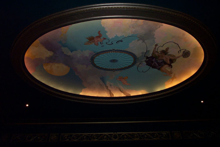 Sky Mural Avalon Theatre, Washington DC