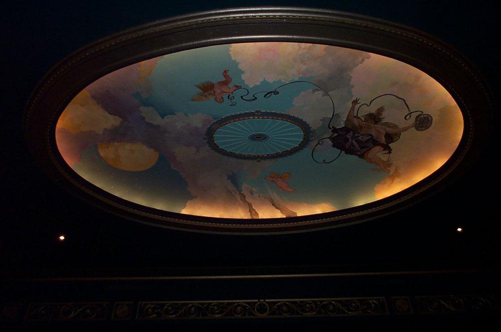 Sky Mural Avalon Theatre, Washington DC
